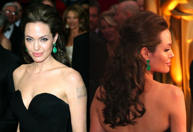 angelina jolie hair dandruff remove tips