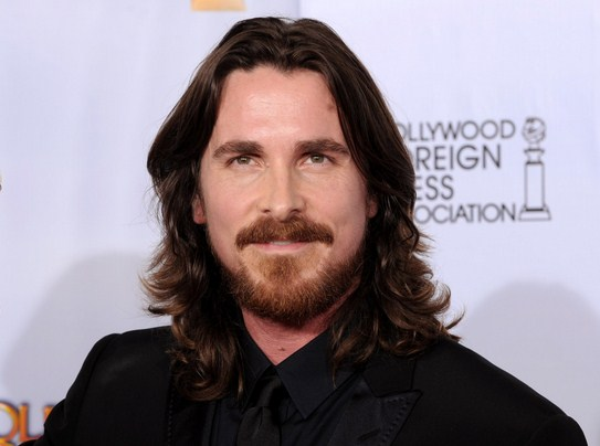 christian bale long hair