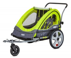 InStep Quick N EZ Double Bicycle Trailer: