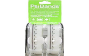 Psi Bands Acupressure Wrist Bands for the Relief of Nausea – Crystal Clear By Psi Bands