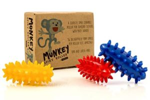 Spiky Sensory Rollers (Pack of 3)
