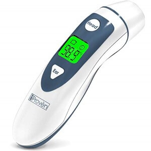 Ear Thermometer with Forehead Function by iProven (Custom)