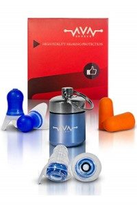 Set of Three Earplugs by Ava-Senses (Custom)