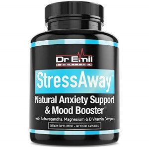 StressAway - Natural Anxiety Relief Supplement by DR. EMIL NUTRITION (Custom)