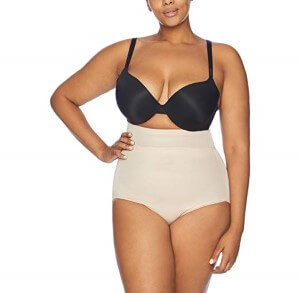 Womens Plus-Size High Waist Brief by Naomi and Nicole (Custom)