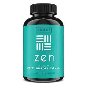 Zen Premium Anxiety and Stress Relief Supplement by Wellpath (Custom)